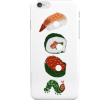 Very Hungry Sushi iPhone Case/Skin