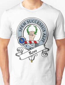 00020 Ross Clan Tartan  T-Shirt