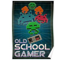 Old School Gamer Poster