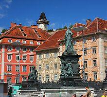 Summer day in Graz, Austria by christopher363