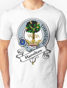 00024 Hamilton Clan Tartan  T-Shirt