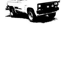Ford Bronco II XL Sport 1988 by garts