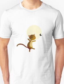 Follow your dreams - cat and butterfly T-Shirt