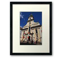 City Parish Church, Graz  Framed Print