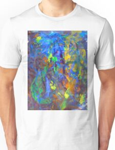 Deep Space Abstract Art Background Unisex T-Shirt