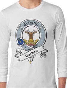 00034 Gordon Clan/Family Tartan Long Sleeve T-Shirt