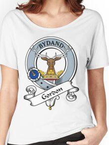 00034 Gordon Clan/Family Tartan Women's Relaxed Fit T-Shirt