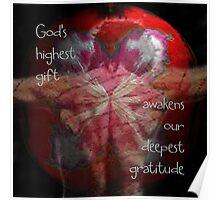 God's Highest Gift Poster
