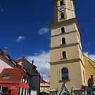Church of the Franciscans, Graz, on a sunny day by christopher363