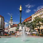 Fountain at the Iron Gate, Graz by christopher363
