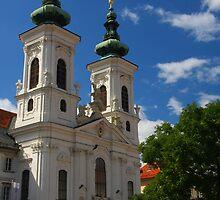 Church Mariahilf, Graz by christopher363