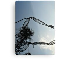 The Chaser Metal Print