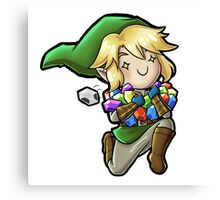 All the Rupees! Canvas Print
