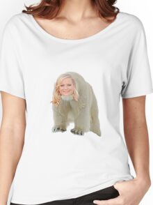 Poehler Bear Women's Relaxed Fit T-Shirt