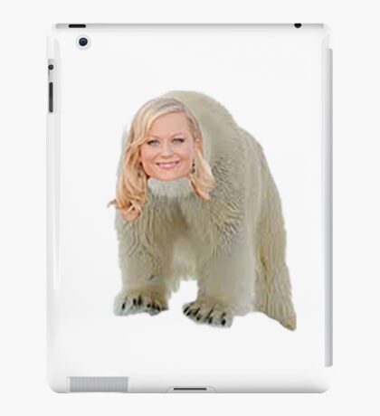 Poehler Bear iPad Case/Skin