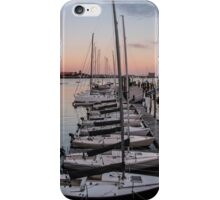 Sunsetting Sails iPhone Case/Skin