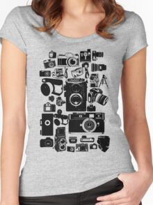 Cameras Women's Fitted Scoop T-Shirt