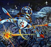 Space fighter. by Robert David Gellion