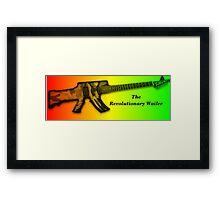 The Revolution Wailer Framed Print