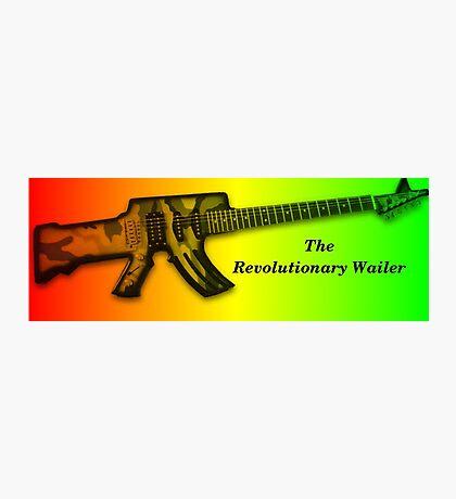 The Revolution Wailer Photographic Print