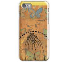 Namaste yoga inspired art iPhone Case/Skin