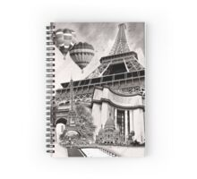 In Remembrance of Paris Spiral Notebook