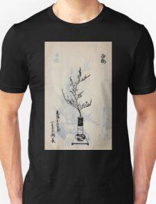 Yenshu ryu ikebana hiak bin no zu shiki konzatsu Flower arrangement in the Enshu style V2 1897 0030 T-Shirt