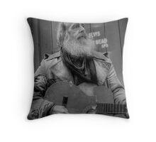 Elvis Aint Dead Throw Pillow