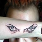 Hypnotic Eyes Tattooed! by DreddArt
