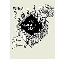 Marauder's Map Photographic Print