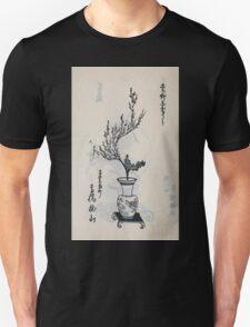 Yenshu ryu ikebana hiak bin no zu shiki konzatsu Flower arrangement in the Enshu style V1 1897 0030 T-Shirt