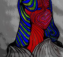 Woman_Abstract02 by Forever Feline