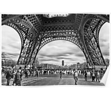 Under the Eiffel Tower Poster