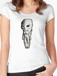Chibi Yolandi Donker Mag Women's Fitted Scoop T-Shirt