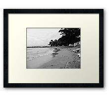 Jamaica Beach Framed Print