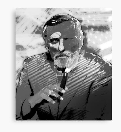 Dennis Hopper Portrait Canvas Print