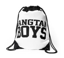 BTS/Bangtan Boys - University/Football Style Drawstring Bag