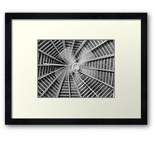Ceiling Fan In Motion Framed Print