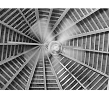 Ceiling Fan In Motion Photographic Print