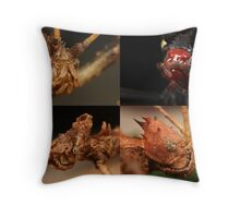 stick insects Throw Pillow