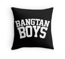 BTS/Bangtan Boys - University/Football Style 2 Throw Pillow