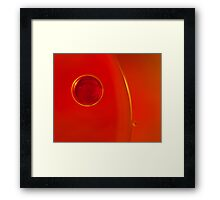 Bubble Fish Framed Print