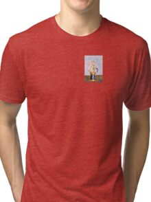 Miss Mouse Knitting Tri-blend T-Shirt