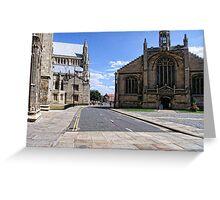 St Michael-Le-Belfrey , York Greeting Card