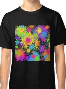 Splattah in Black Classic T-Shirt