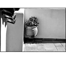 SKIATHOS - A touch of mediterranean mood - B/W Photographic Print