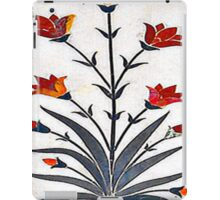Marble Work at Agra Red Fort  iPad Case/Skin