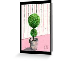 Topiary Greeting Card