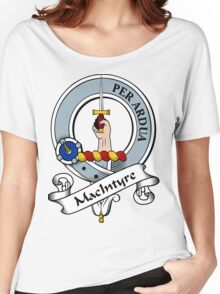 00092 MacIntyre Clan/Family Tartan  Women's Relaxed Fit T-Shirt