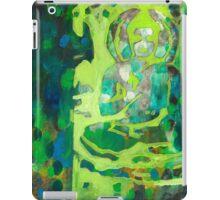 Meditating Buddha contemporary spiritual abstract iPad Case/Skin